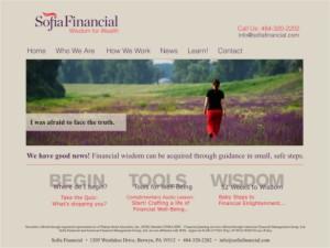 Sofia Financial new site