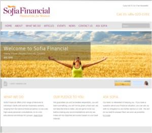 Sofia Financial old site